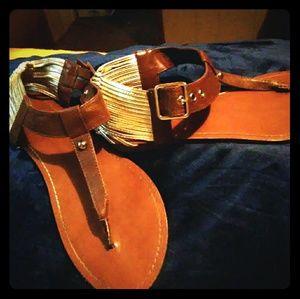 Mossimo Peace Gladiator Sandals